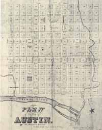 1839 Plan for the City of Austin